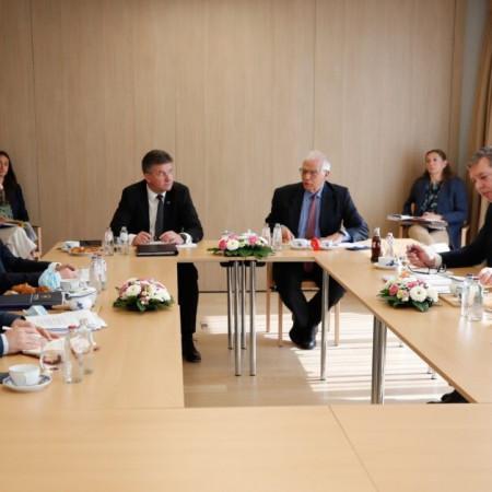 Završen drugi sastanak Kurtija i Vučića, jedini dogovor da se dijalog nastavlja