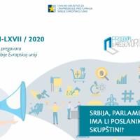 Dostupan 66/67. dvobroj biltena – Srbija i EU: Ima li poslanika u skupštini?