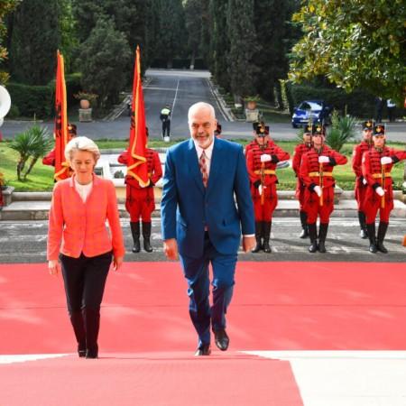 Ursula fon der Lajen otpočela trodnevnu posetu regionu Zapadnog Balkana